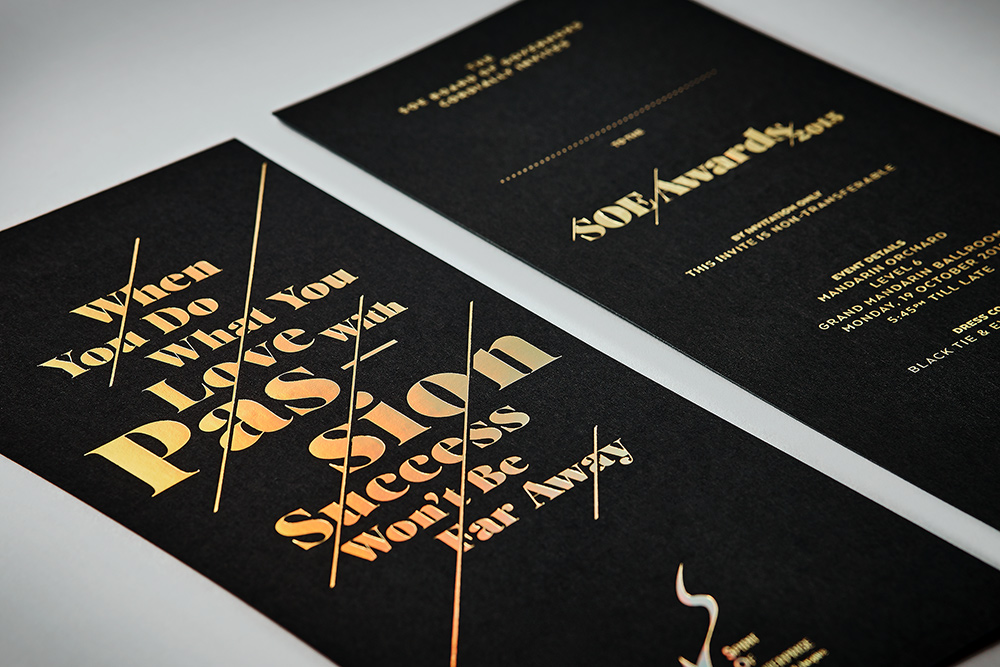 SOE Sponsorship Kit and Awards Collateral